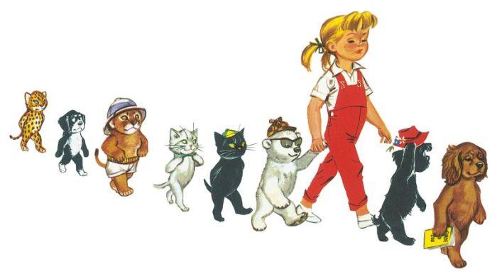Personnage Martine, livres pour enfants CREDIT : EDITIONS Hachette
